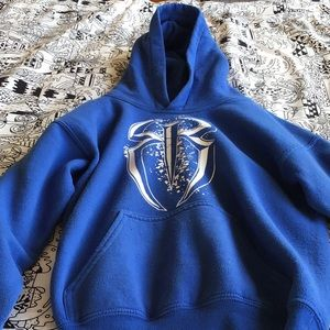Monster hoodie (Royal blue)